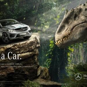 El Mercedes-Benz GLE Coupé se estrenará en la cinta 'Jurassic World'
