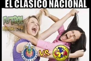 El Clásico Nacional Chivas-América dejó increíbles memes. Foto: Futbol bullying, bullying futbolero