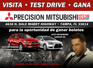 Precision Mitsubishi Romeo Santos Promo Banner