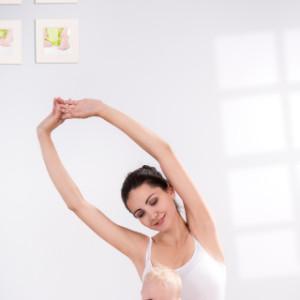 Cómo hacer yoga con tu bebé