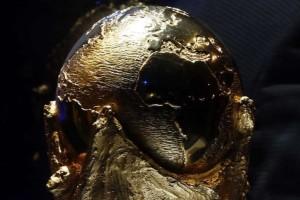 El trofeo de la Copa del Mundo de la FIFA. Foto: Getty Images