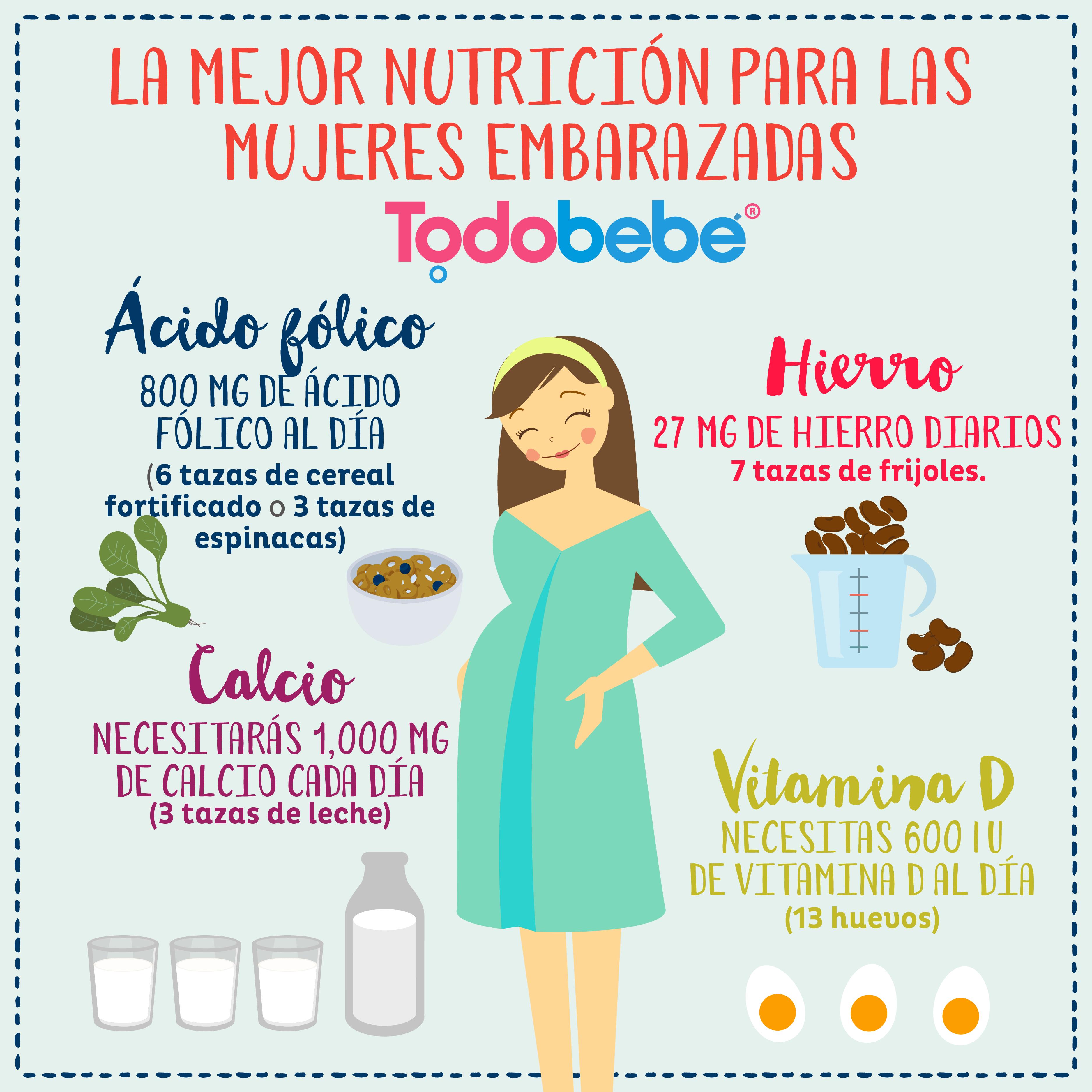 4 b sicos de la alimentaci n en el embarazo - Alimentos no permitidos en el embarazo ...