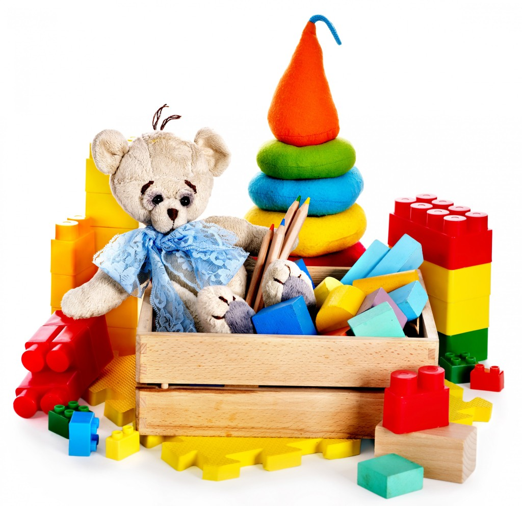 Juguetes para niños de dos a tres años