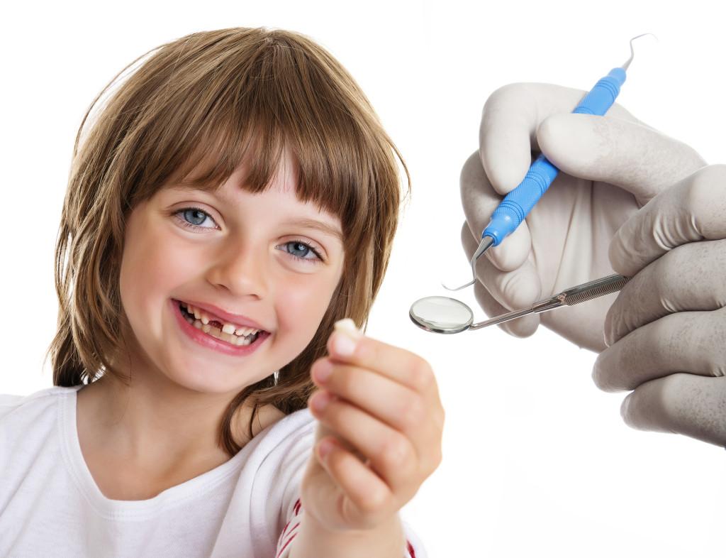 Cambio a los dientes definitivos