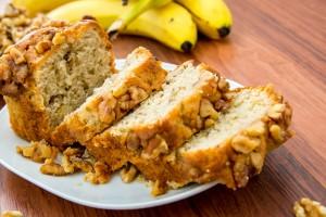 Receta de un delicioso pan de plátano