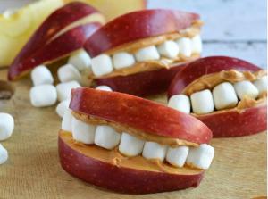 Recetas de bocadillos saludables para Halloween