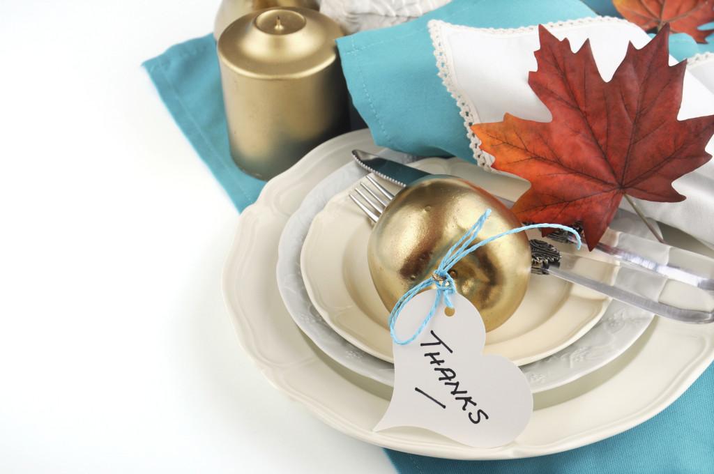 3 ideas para hacer más linda tu mesa de Thanksgiving