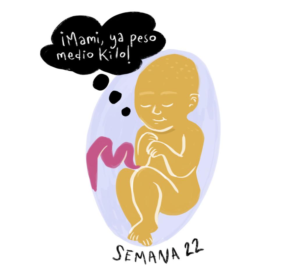 Medio kilo de bebé