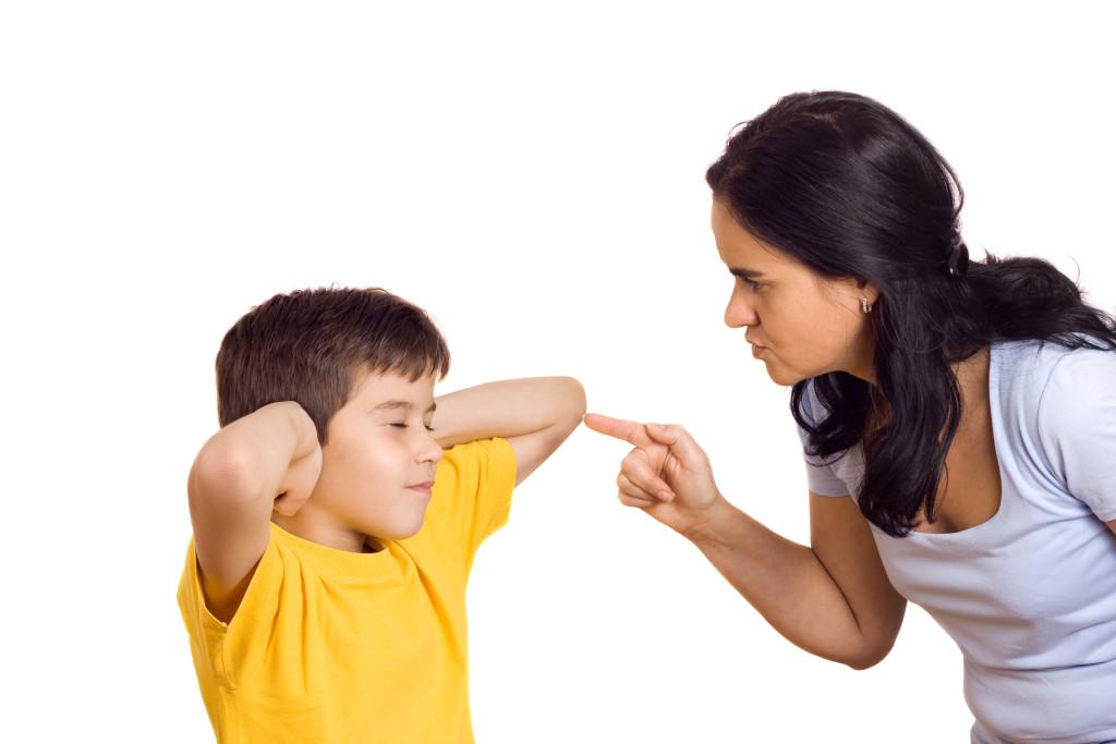 ¿Quién de los dos es malo? ¿Papá o mamá?