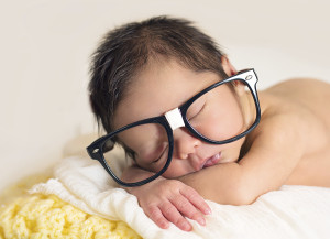 Examina los ojos de tu bebé