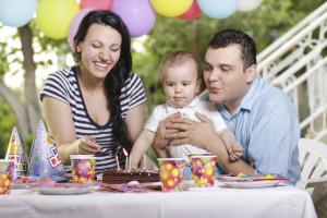 Lista para la fiesta de tu bebé