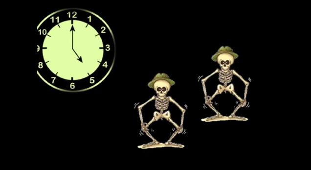 Canciones de miedo para bailar con tus hijos