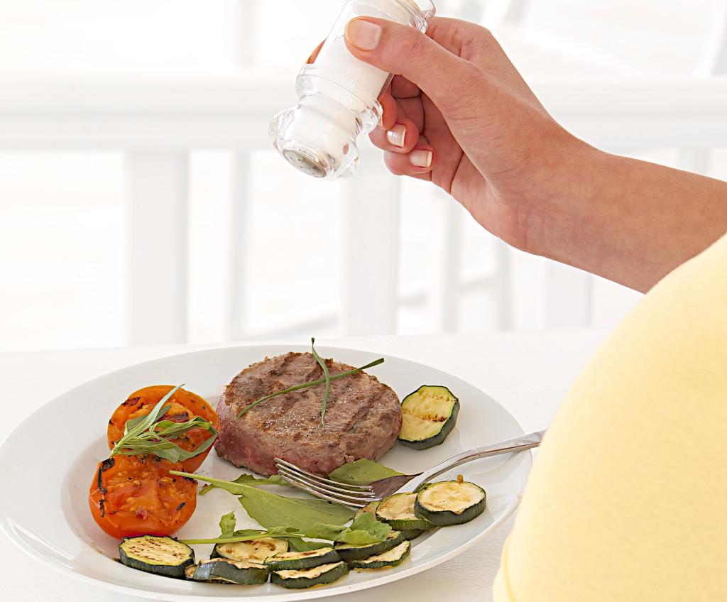 Cuidado con el consumo de sal durante embarazo