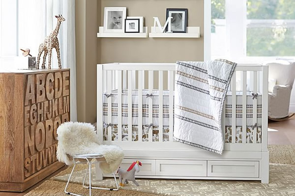 5 ideas para decorar un cuarto unisex - Ideas para decorar habitacion bebe ...