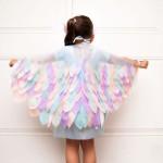 Hecho en casa: ¿Cómo hacer alas para un difraz?