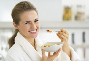 La alimentación después del parto