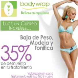 Bodywrap, 35% de descuento en tu tramiento