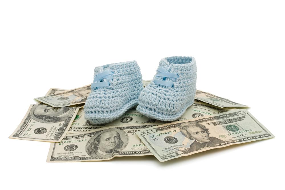 El costo del primer año del bebé