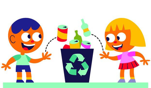 Aprender a reciclar jugando. Foto: aulaplaneta