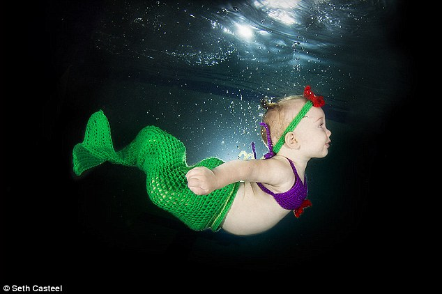 Sirena, Ayla, 7 meses. ©Seth Casteel