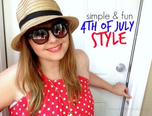 Simple and Stylish 4th of July Outfit Ideas