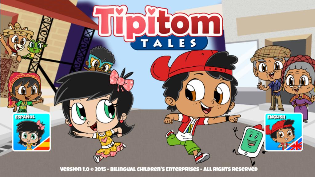 Tipi Tom Tales App