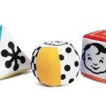 Hazlo tú misma: Cubo y otras figuras de texturas para tu bebé