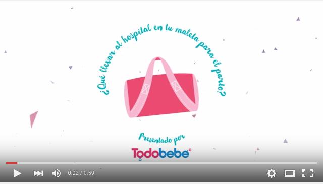 VIDEO: ¿Qué llevar en la maleta para el momento del parto?