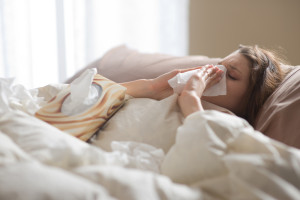 ¿Qué pasa cuando mamá se enferma?