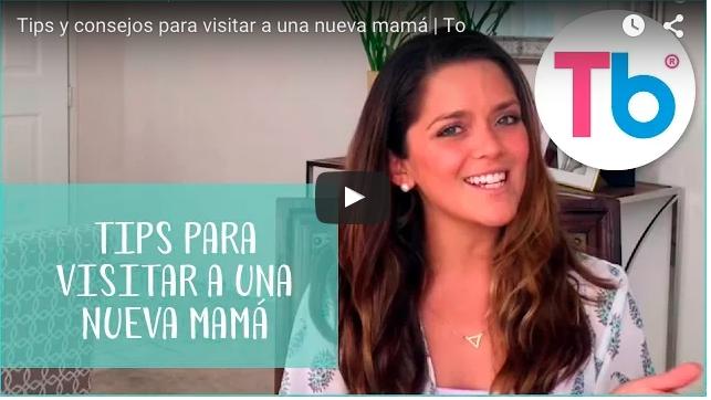 7 tips para visitar a una nueva mamá