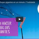 Cómo hacer burbujas gigantes en un minuto