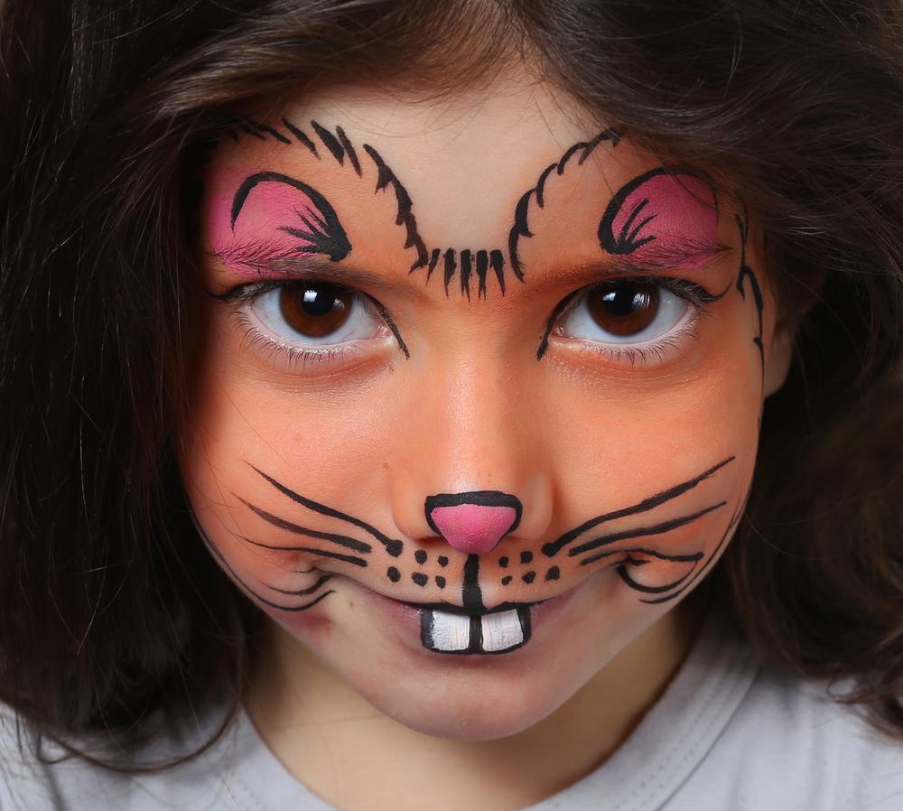 Ideas de maquillaje para ni os en halloween - Pintura cara halloween ...