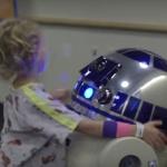 Star Wars visita a los niños del Children's Hospital de Los Ángeles