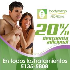 Bodywrap, 20% de descuento