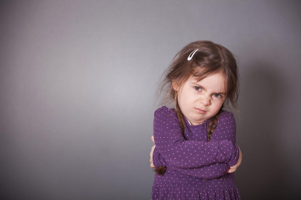 Sulking Girl