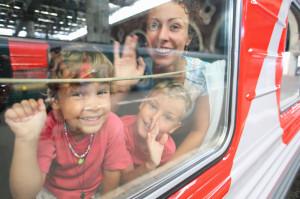 Los beneficios de viajar en familia