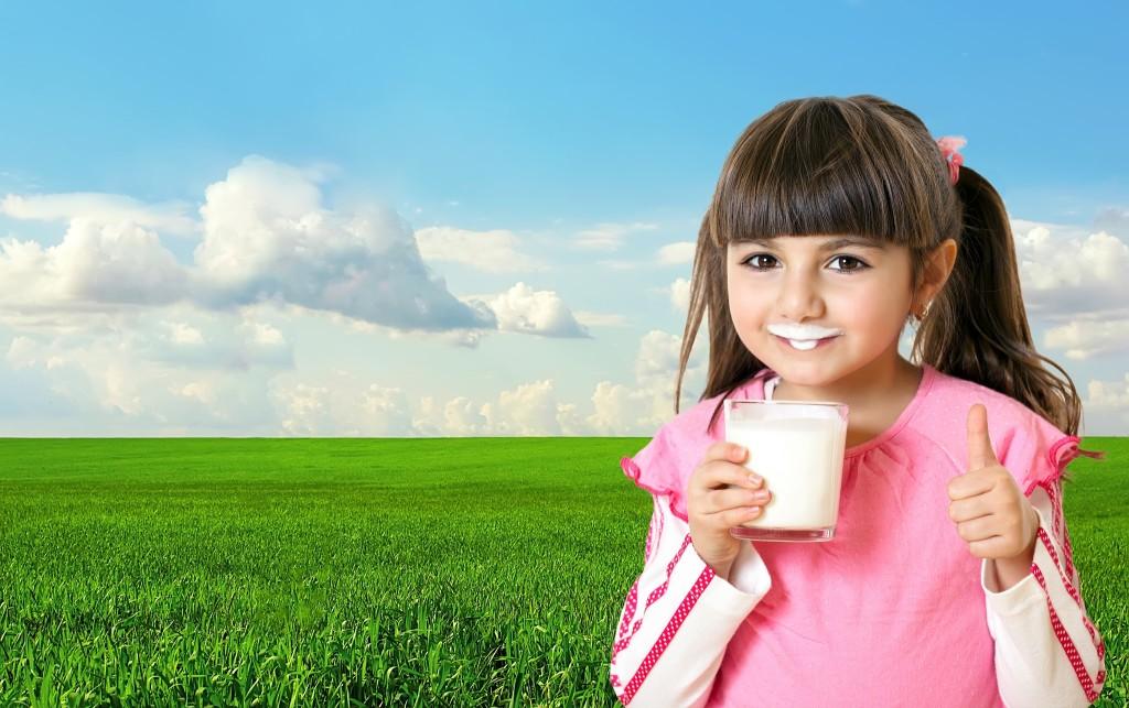 Un vaso de leche al día