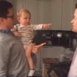 """VIDEO: Cuando papá tiene un hermano """"gemelo"""""""