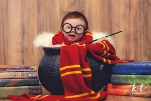 """Sesión de fotos de la """"asistente más linda de Harry Potter"""""""