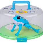 Retiran ranas de juguete por lesiones y riesgos químicos causados por la batería