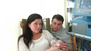 Su bebé murió deshidratado y comparte la historia para ayudar a otros