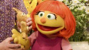 Una hermosa muppet con autismo será recibida pronto en Plaza Sésamo