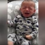 VIDEO: logró calmar a su bebé con la ropa sucia de mamá