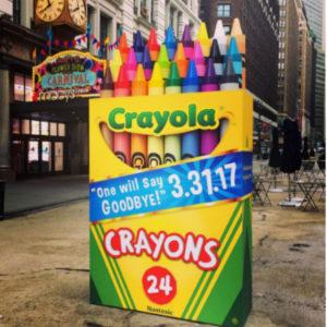 La marca Crayola le dice adiós a uno de sus colores icónicos