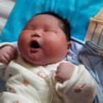 Nace en China uno de los bebés más pesados del país