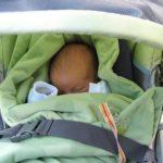 Cubrir la carriola con una manta en verano podría ser un grave error
