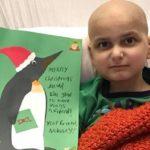 Niño con cáncer terminal pide tarjetas al mundo para su última Navidad