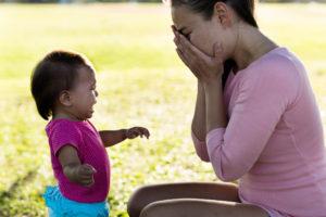 Así es como la depresión materna afecta a los bebés