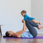 4 formas sencillas de ejercitarte con tu bebé