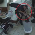 VIDEO: Oficial de policía salva a bebé de asfixiarse con nugget de pollo